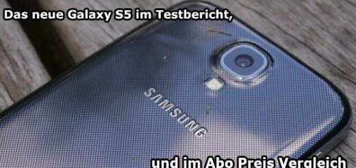 Samsung Galaxy S5 Testbericht Abo Vergleich
