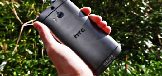 HTC One M8 im auszug