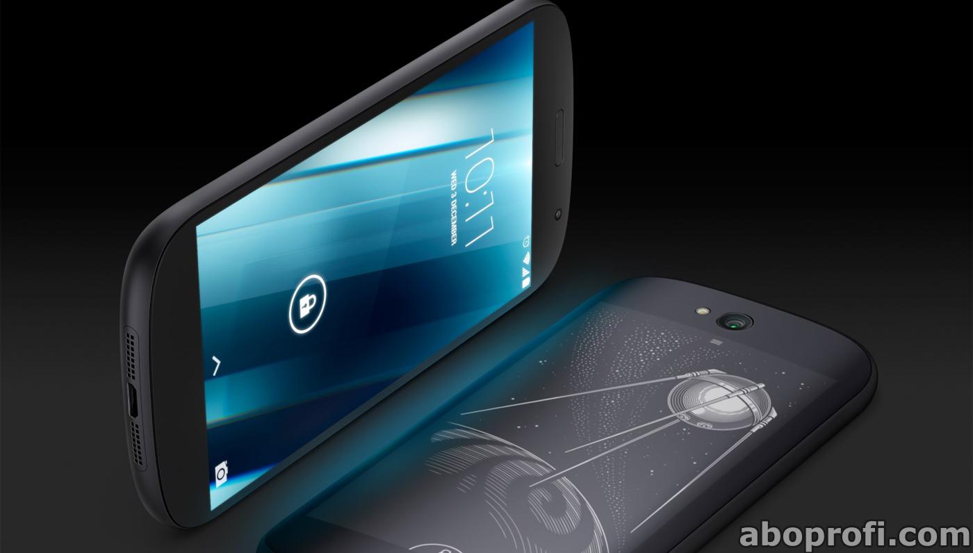YotaPhone 2 das Handy